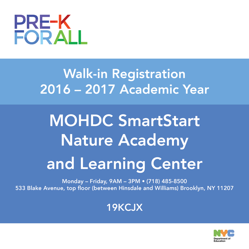 Register Now for the 2016-2017 Preschool Year!