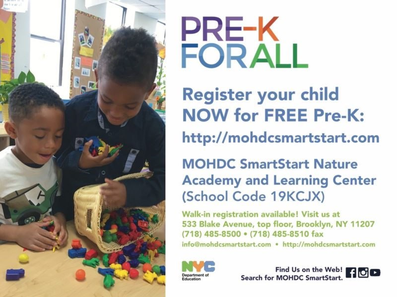 Register Now for the 2017-2018 Preschool Year!