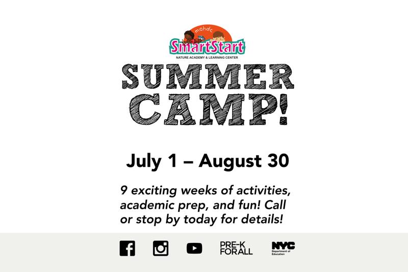 MOHDC SmartStart Nature Academy Summer Camp 2019