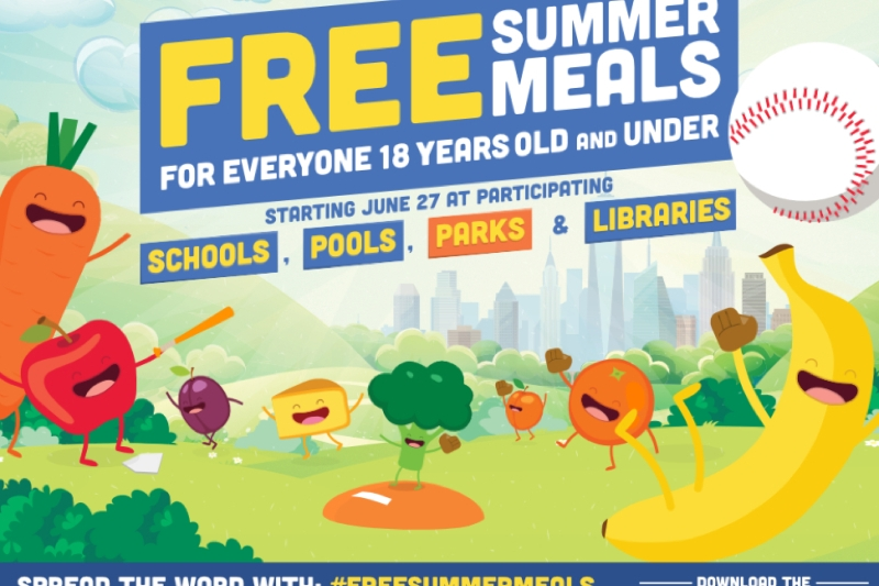 Free Summer Meals in New York City