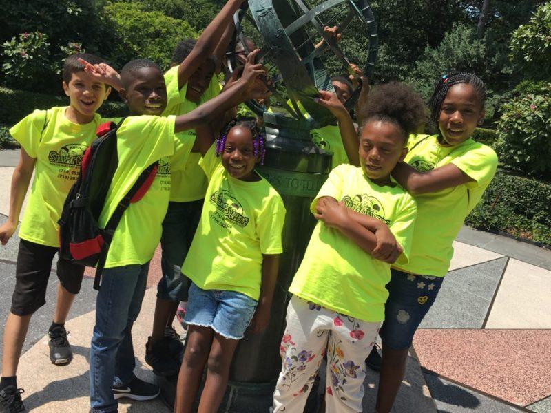 Children at Prospect Park