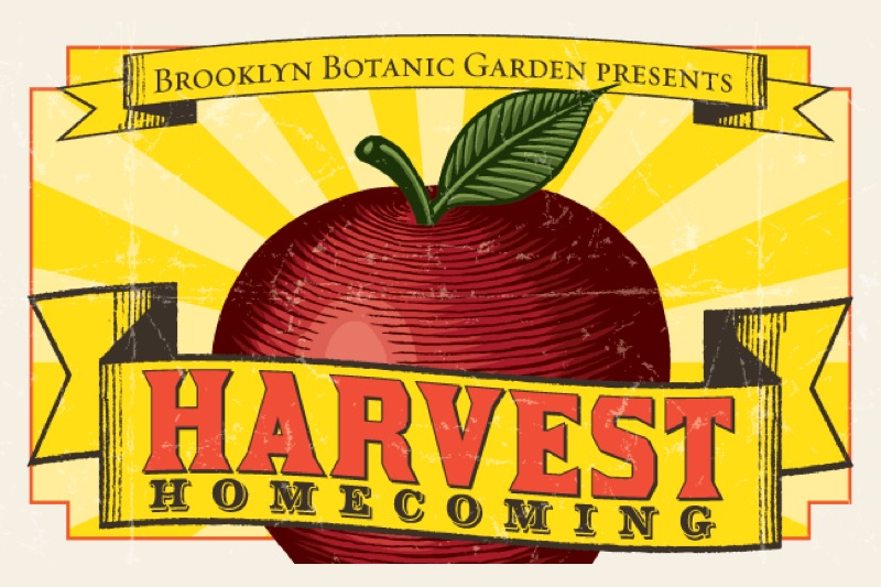 Harvest Homecoming at the Brooklyn Botanic Garden