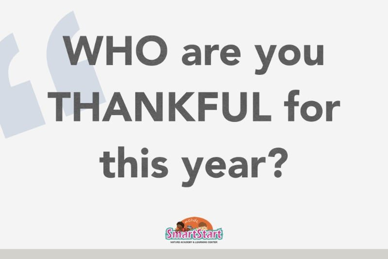 Who Are You Thankful for This Year?