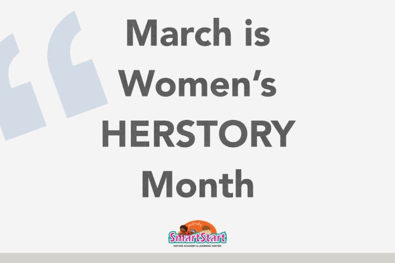 March is Women's HERSTORY Month!